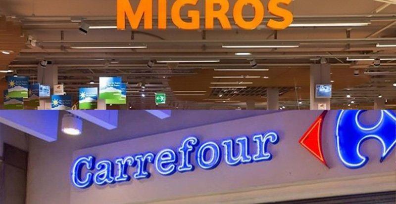 CarrefourSA 34 mağazasını migros'a devrediyor