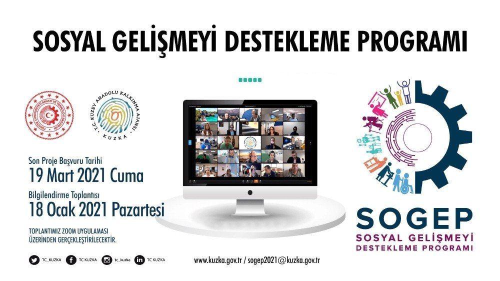Sosyal Gelişmeyi Destekleme Programı proje başvuruları Kastamonu, Çankırı ve Sinop'ta başladı