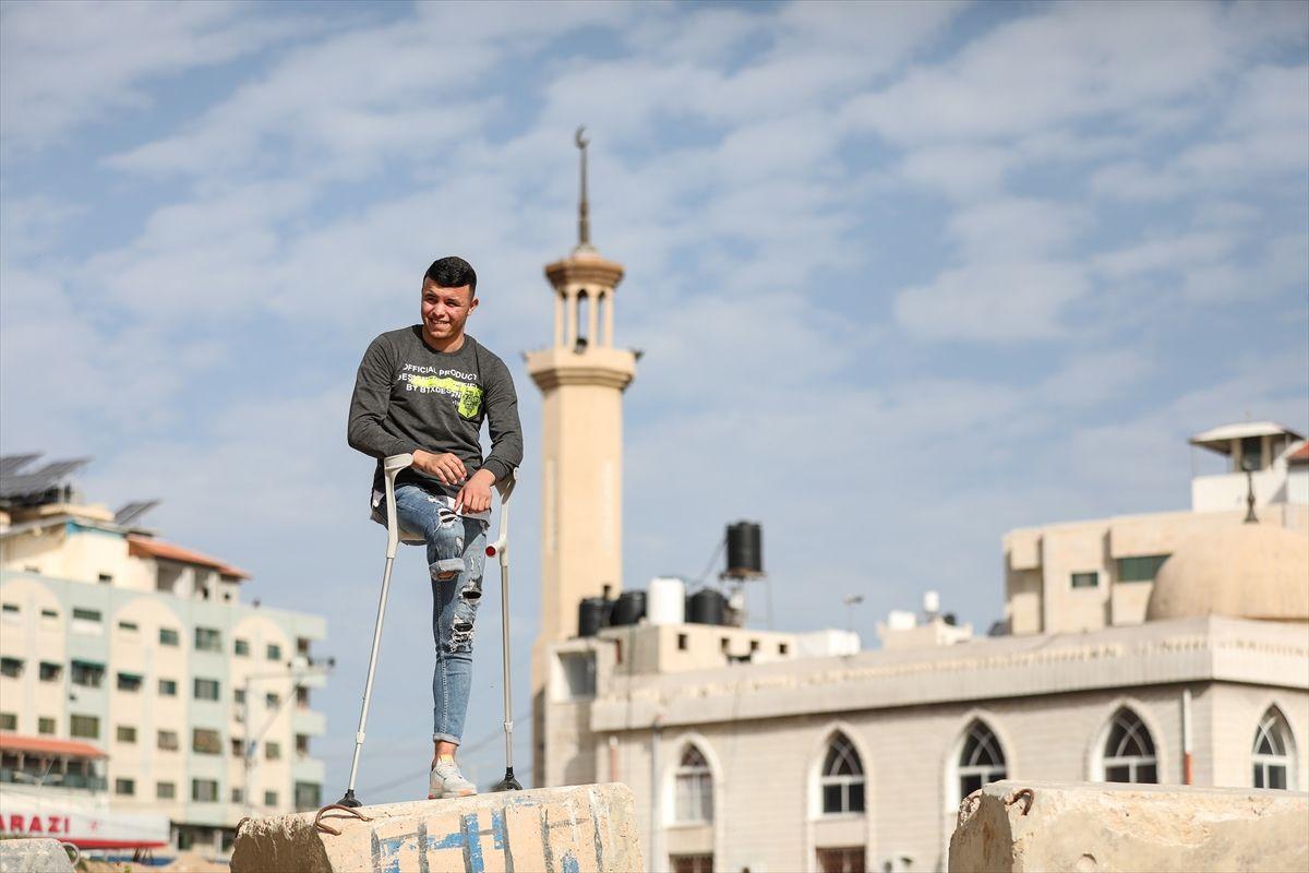 Engel tanımayan Filistinli