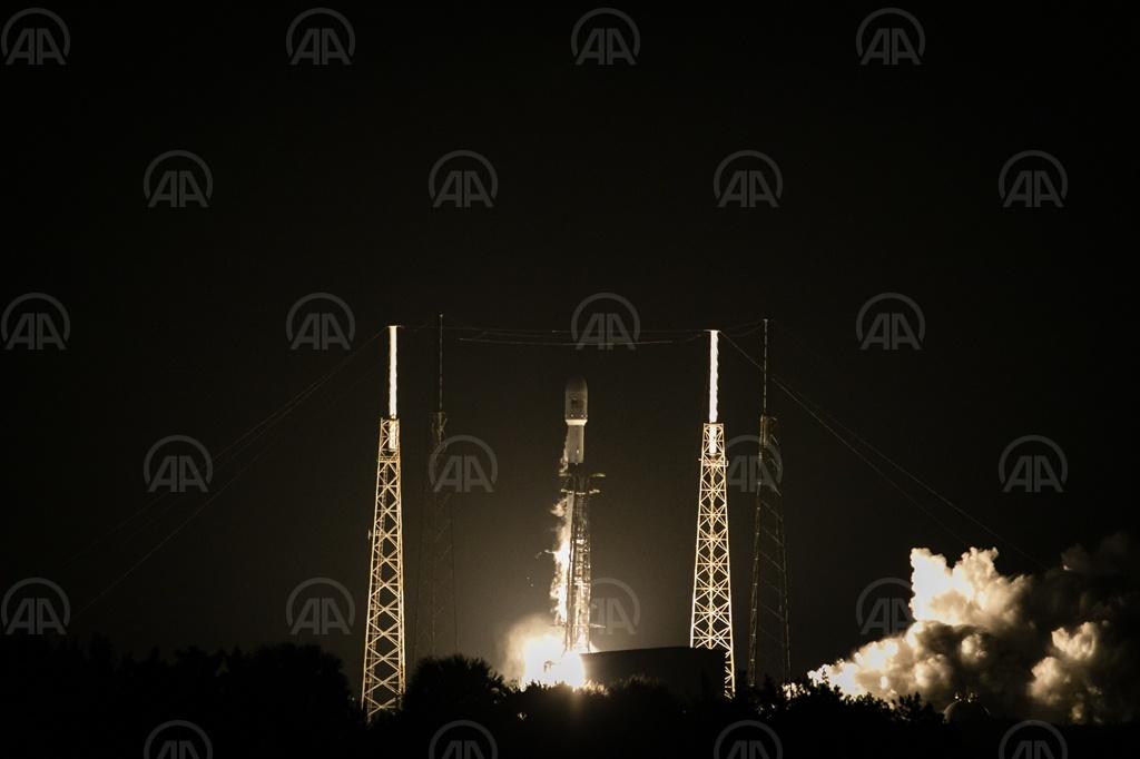 TÜRKSAT5A uydusu uzayda