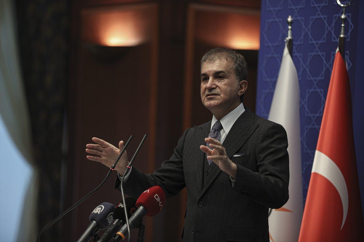 AK Parti SözcüsüÇelik, MKYK toplantısına ilişkin açıklamalarda bulundu