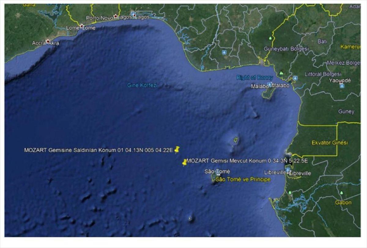 Türk gemisine Nijerya açıklarında korsan saldırısı