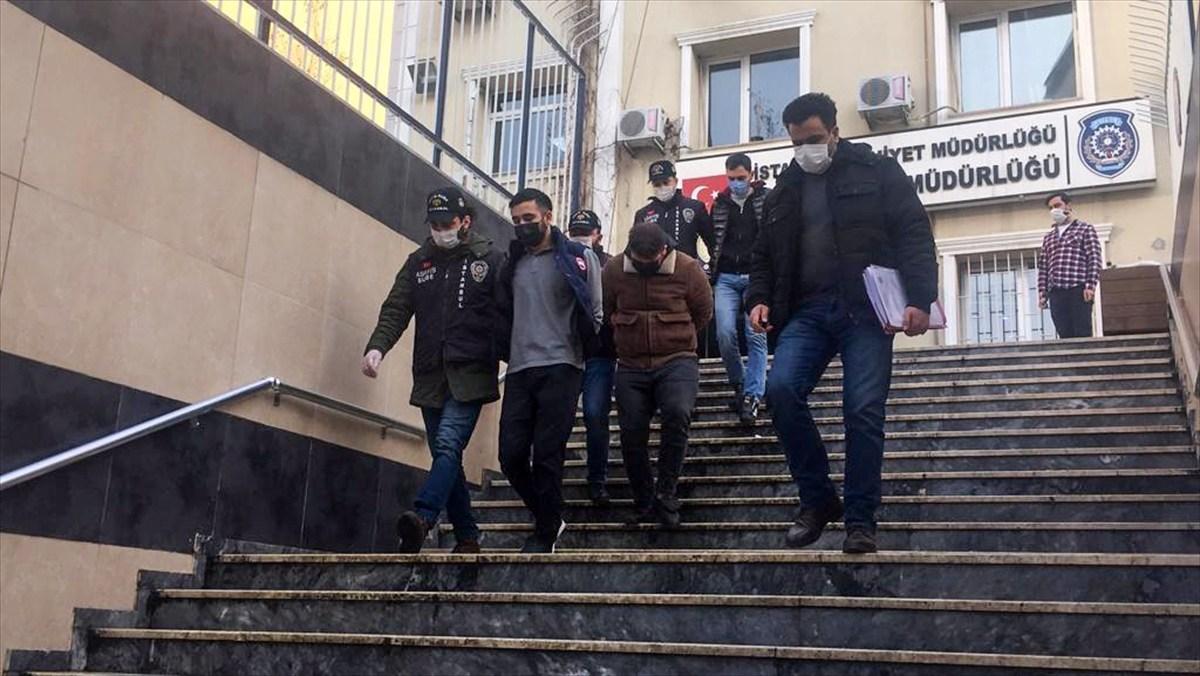 Başakşehir ve Beykoz'da  hırsızlık yapan 3 şüpheli tutuklandı