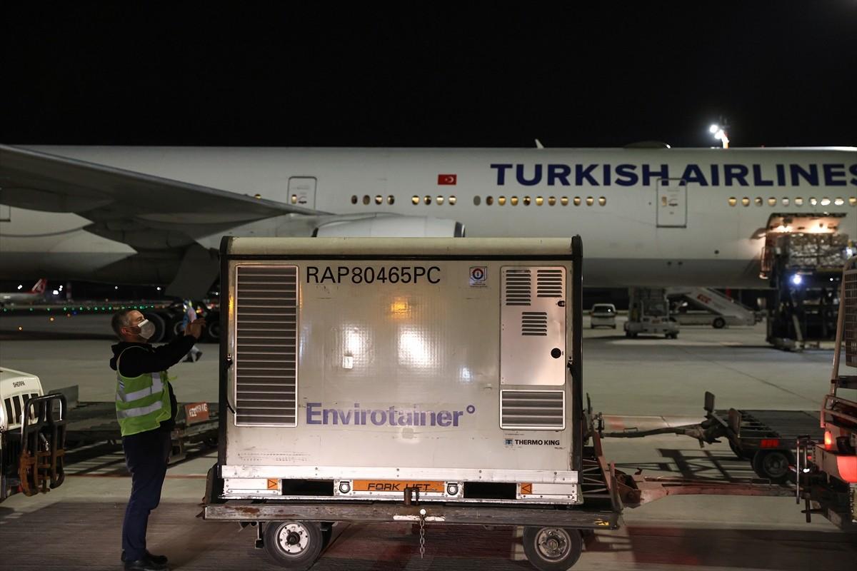 6.5 milyon doz Kovid-19 aşısı Türkiye'de