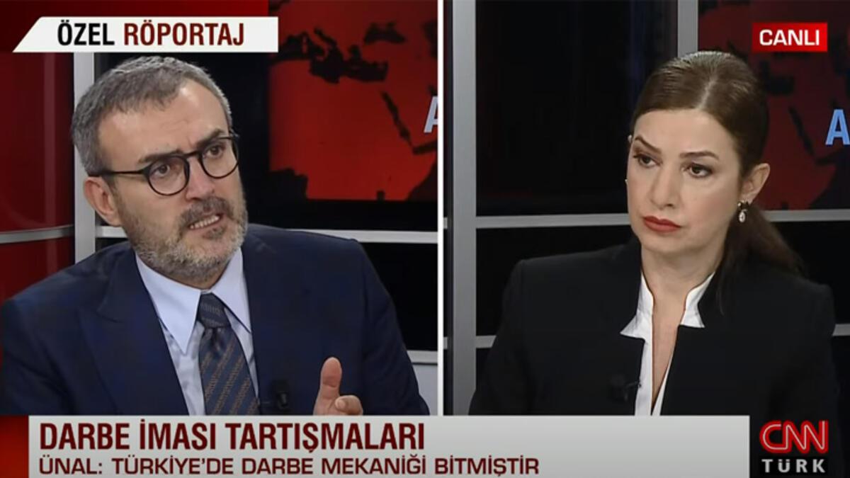 Ünal: Türkiye'de darbe mekaniği bitmiştir