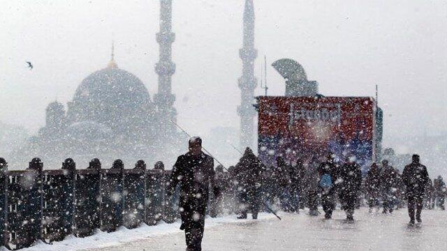 İstanbul 'da kar, don ve buzlanma uyarısı