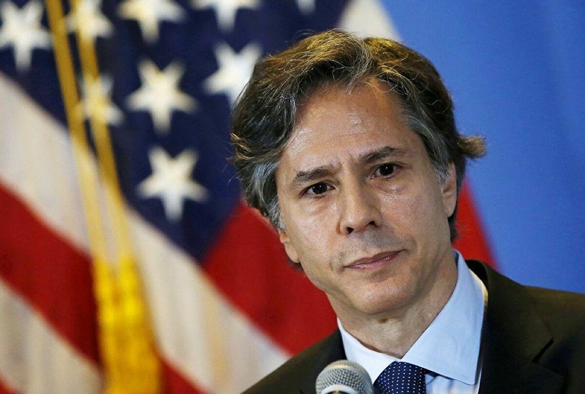 ABD Senatosu, Dışişleri Bakanlığına aday gösterilen Antony Blinken'ı onayladı.