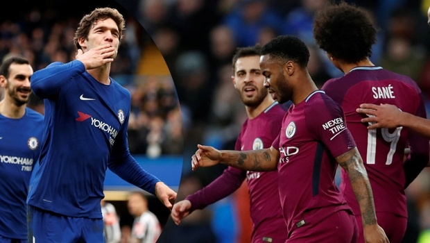 Chelsea ve Manchester City, Federasyon Kupası'nda 4. tura yükseldi