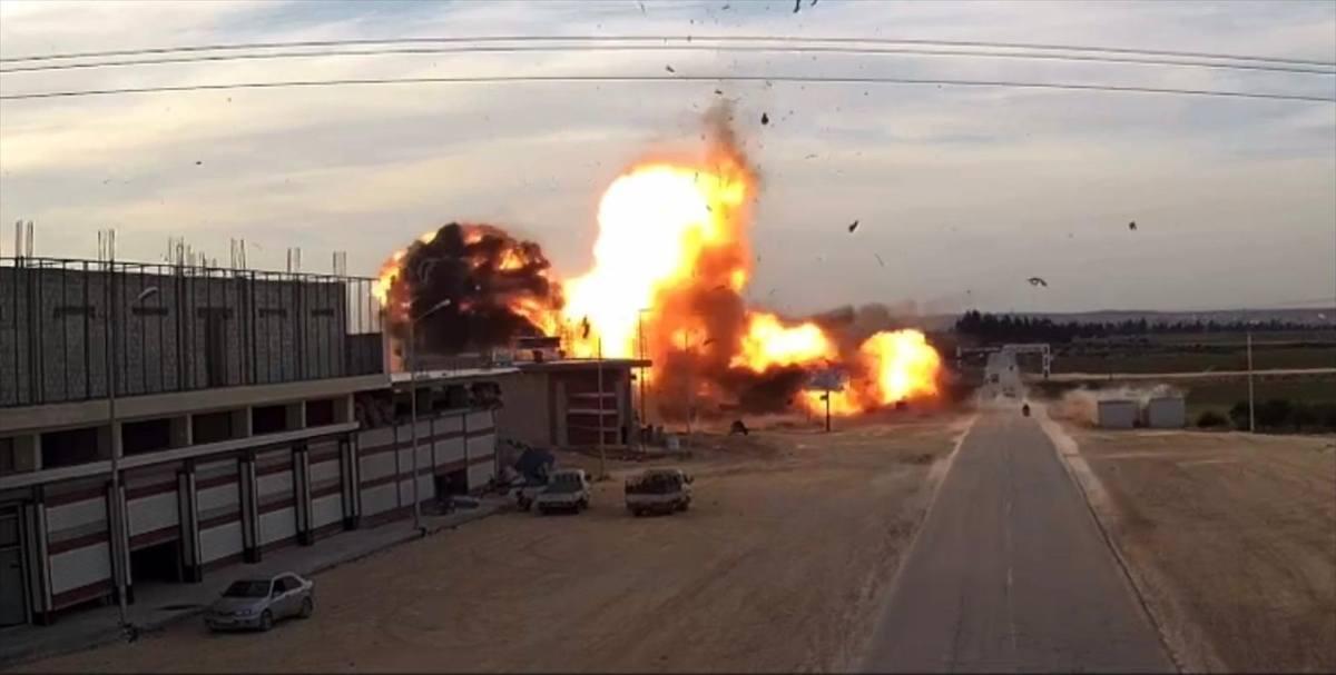 Suriye'nin kuzeyindeki Bab ilçesinde terör saldırısı: 1 ölü