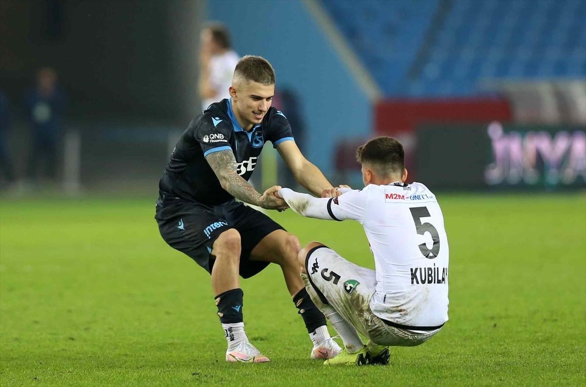 Trabzonspor Denizlispor 1-0 mağlup etti