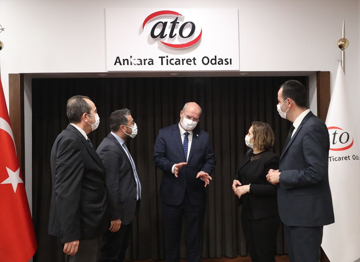 """ATO Başkanı Baran: """"Türkiye Avrupa'nın tedarik merkezi olabilir"""""""