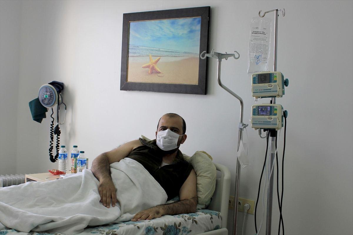 Trabzon'da Azerbaycanlı hastaya otolog kök hücre nakli yapıldı
