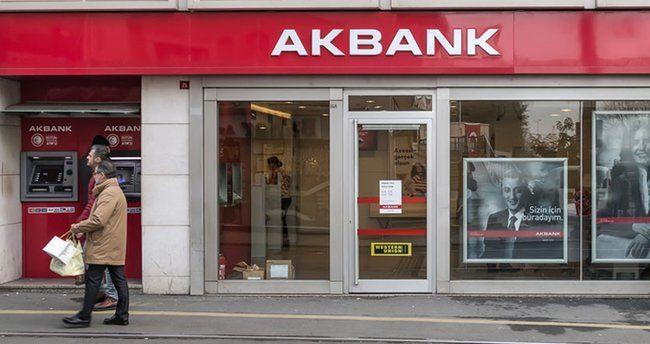 Akbank'tan 2020'de 6 milyar 260 milyon lira net kar