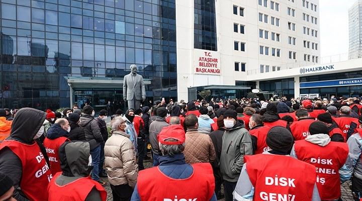Ataşehir Belediyesi'ne grev kararı asıldı