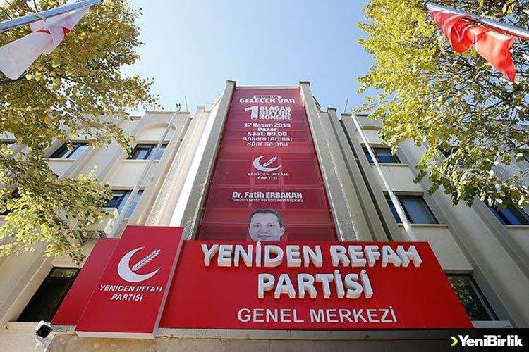 Yeniden Refah Partisinden Boğaziçi Üniversitesi'ndeki olaylarla ilgili açıklama
