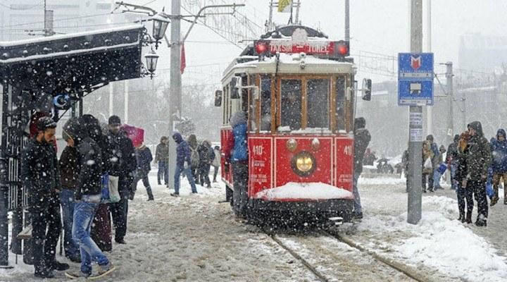 İstanbul Valiliğinden kar yağışı ve soğuk hava uyarısı