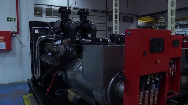Dünyanın ilk biyodizel ile çalışan jeneratörü üretildi