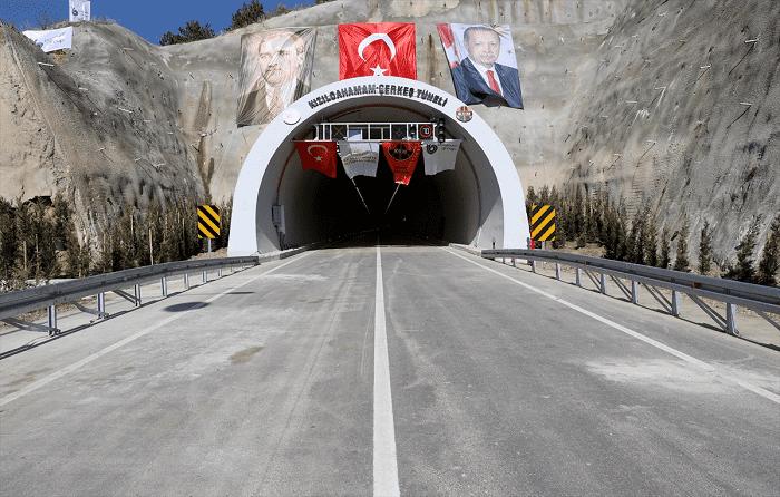 Erdoğan, Çerkeş Tüneli Açılışında konuştu