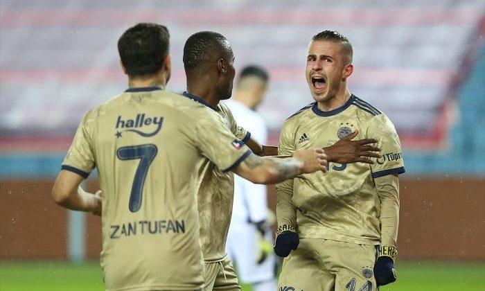 Fenerbahçe, Trabzonspor'u 1-0 yendi