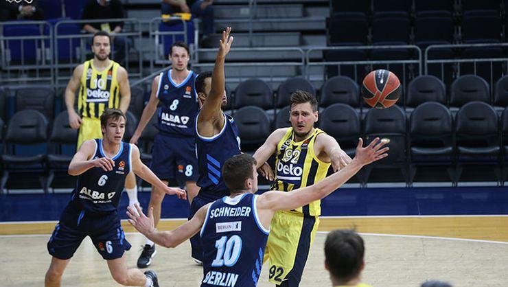 Fenerbahçe, Avrupa liginde ALBA Berlin'i 89-84 mağlup etti
