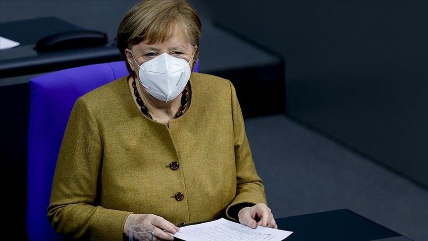 Almanya Başbakanı Merkel, Federal Meclis'te Kovid-19 tedbirlerini savundu