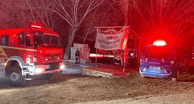 Denizli'de restoranda çıkan yangında 3 kişi öldü