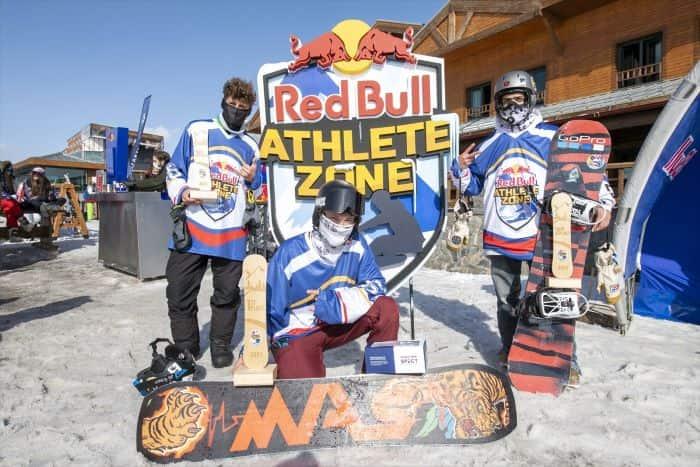 Red Bull Athlete Zone Erciyes'te yapıldı