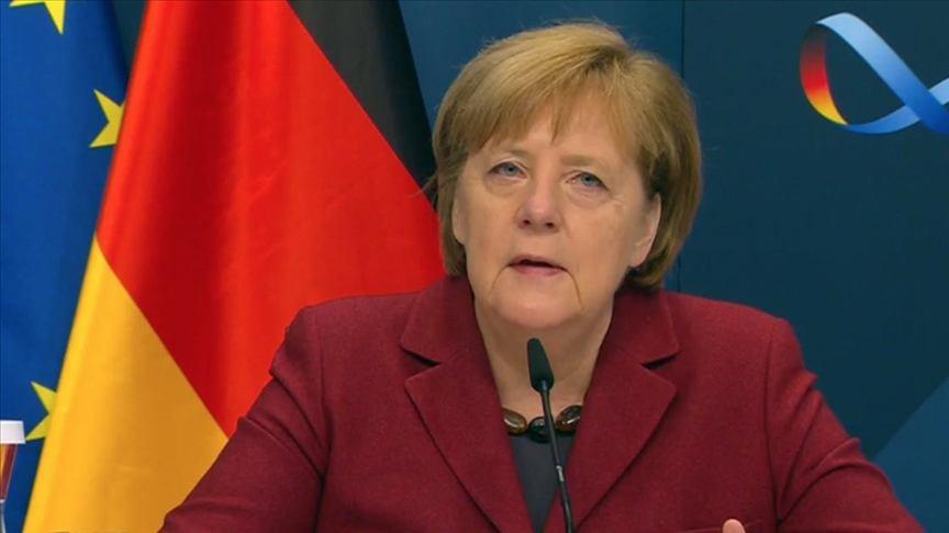 """Merkel: """"Almanya, transatlantik ortaklıkta yeni bir sayfa açmaya hazır"""""""