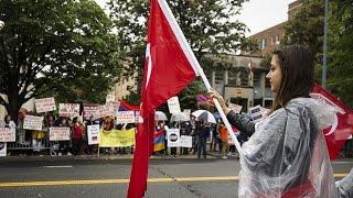 """ABD'de Türklerin verdiği """"uyum içinde yaşama"""" ilanı Ermenileri kızdırdı"""