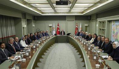 AK PartiMYK üyeleri açıklandı