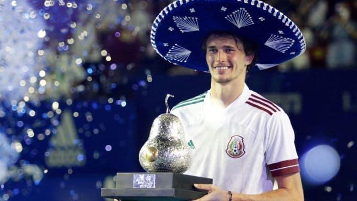 2021 Meksika Açık'ta şampiyon Alexander Zverev