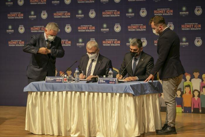Diyarbakır Büyükşehir Belediyesinde  toplu iş sözleşmesi