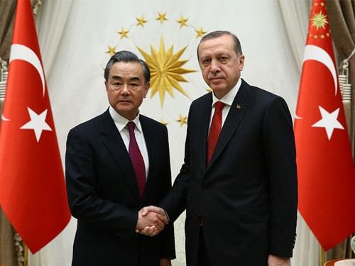 Cumhurbaşkanı Erdoğan, Çin Dışişleri Bakanı Vang Yi'yi kabul etti