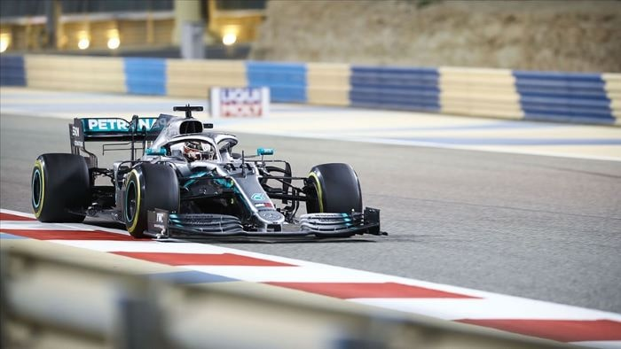 Lewis Hamilton, 96. zaferine Bahreyn Grand Prix'sinde ulaştı