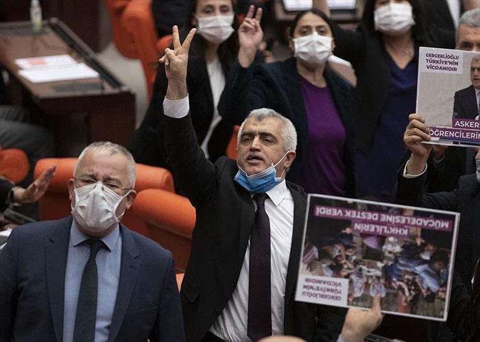 Gergerlioğlu TBMM'de gözaltına alındı