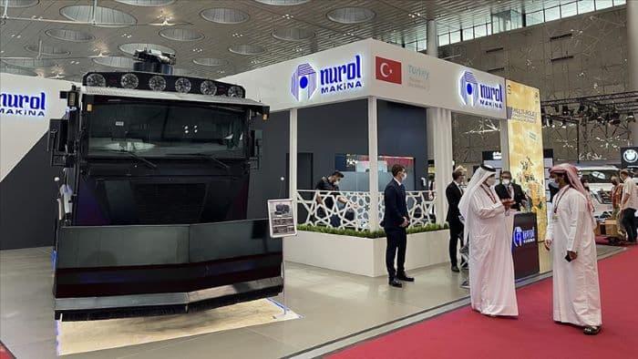 Katar'daki İç Güvelik Fuarı'nda Türk şirketlerine büyük beğeni