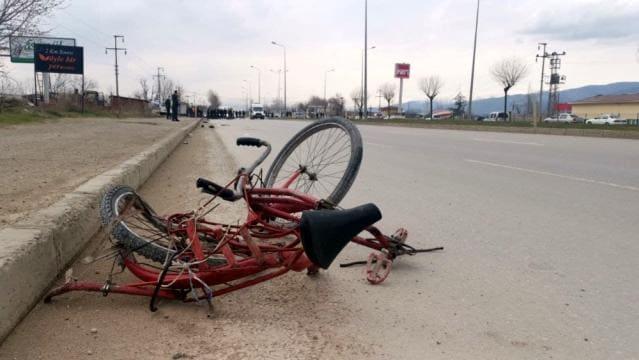 Tokat'ta motosikletin çarptığı bisiklet sürücüsü öldü