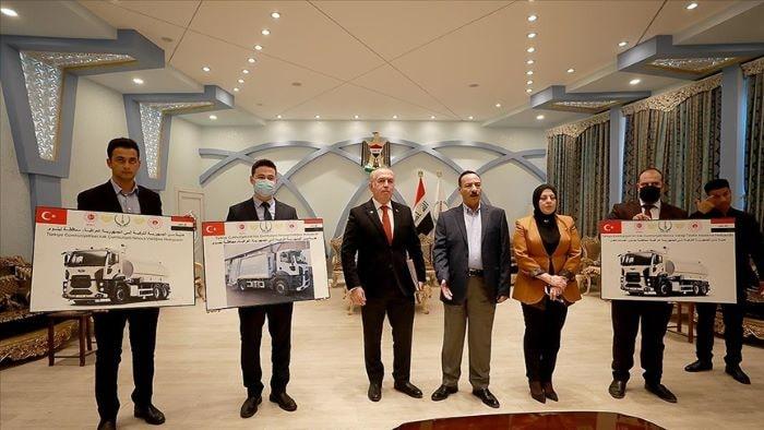 Türkiye Irak'a belediye araçları hibe edecek