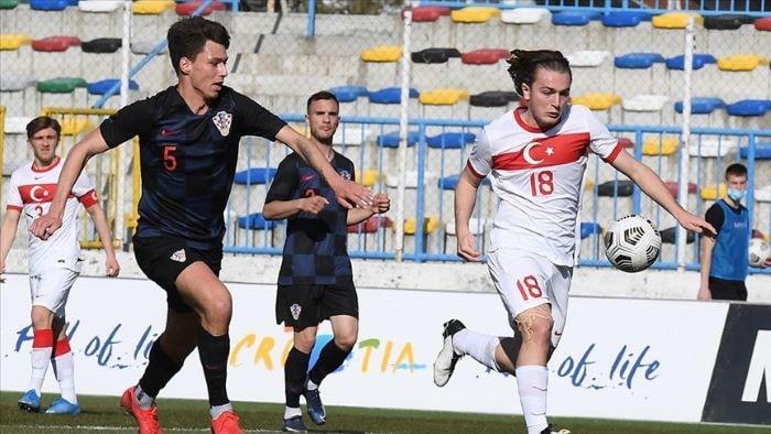 Ümit Milli Futbol Takımı, Hırvatistan'a 4-1 yenildi