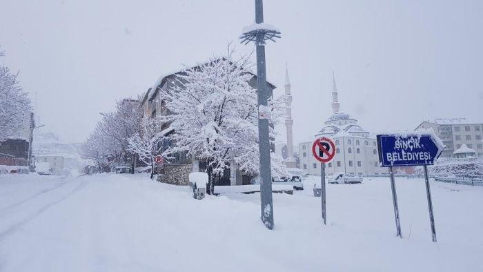 Adıyaman'da kar yağışı