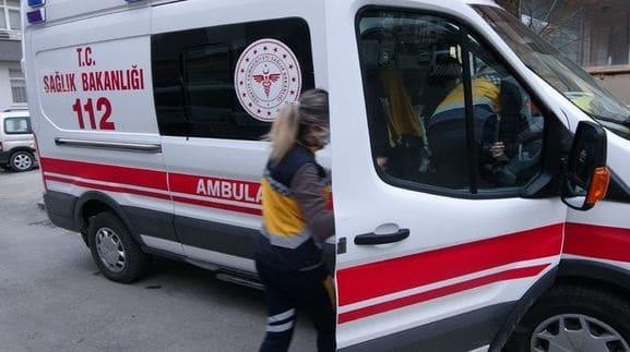 Ordu'da 112 Acil Servis ekiplerine saldırı