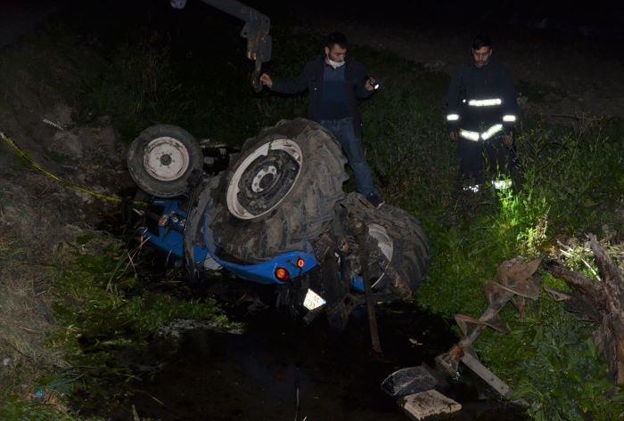 Antalya'da traktör kazası