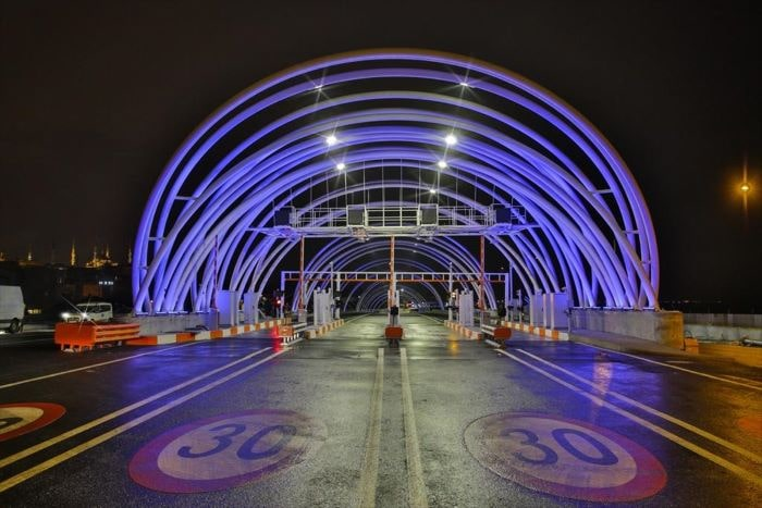 Avrasya Tüneli'ni 4 yılda 4,1 milyon araç kullandı