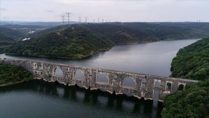 İstanbul'un barajlarındaki su miktarı 538 milyon metreküp oldu