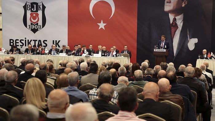 Beşiktaş divan kurulu toplantısı 6 Mart Cumartesi yapılacak