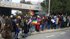 Boğaziçi Üniversitesi önünde gösteri yapan öğrenciler serbest  bırakıldı