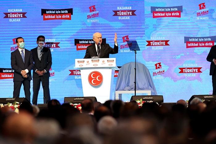 2023'te adayımız Recep Tayyip Erdoğan