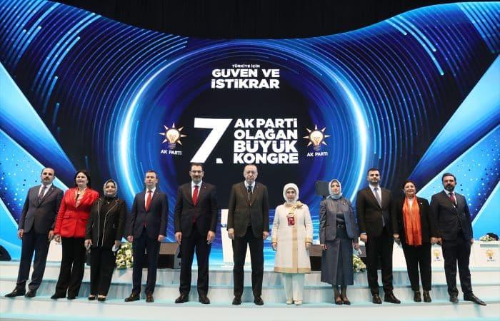 Erdoğan AK Parti 7. Olağan Kongresi'nde konuştu