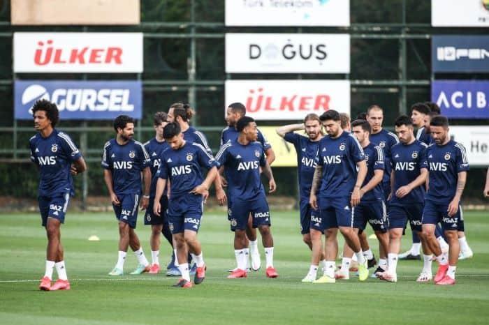Fenerbahçe, Beşiktaş derbisi hazırlığına başladı