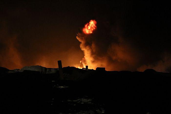 Suriye'de balistik füze saldırısı: 1 ölü, 18 yaralı